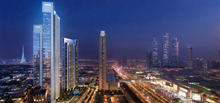 Downtown Views II T2 by Emaar