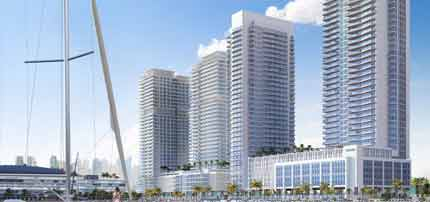 Marina Vista by Emaar Podium for sale in Dubai