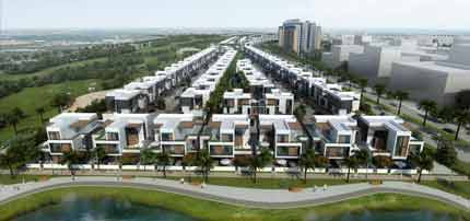 Park Lane Townhouses by Dubai South