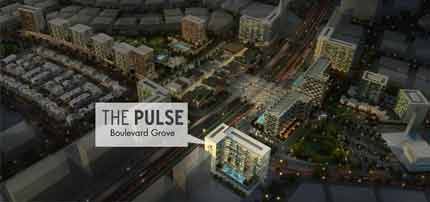 The Pulse Boulevard Grove by Dubai South